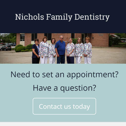 Nichols Website Redesign