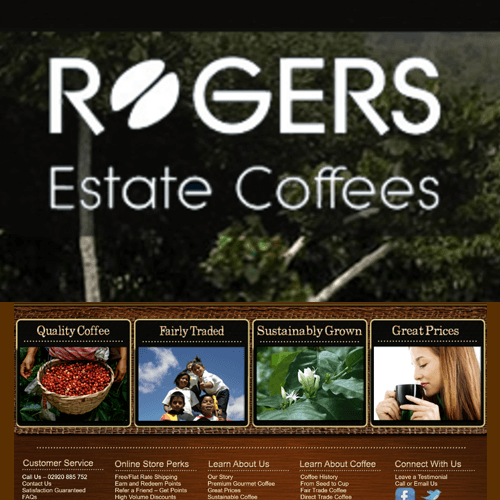 Rogers Estate Coffees