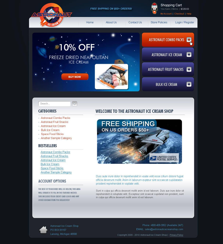 Astronaut Ice Cream Shop 2 Astronaut Ice Cream Shop