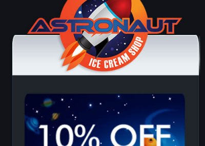Astronaut Ice Cream Shop