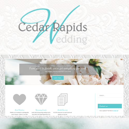 CR Wedding Full Website Design