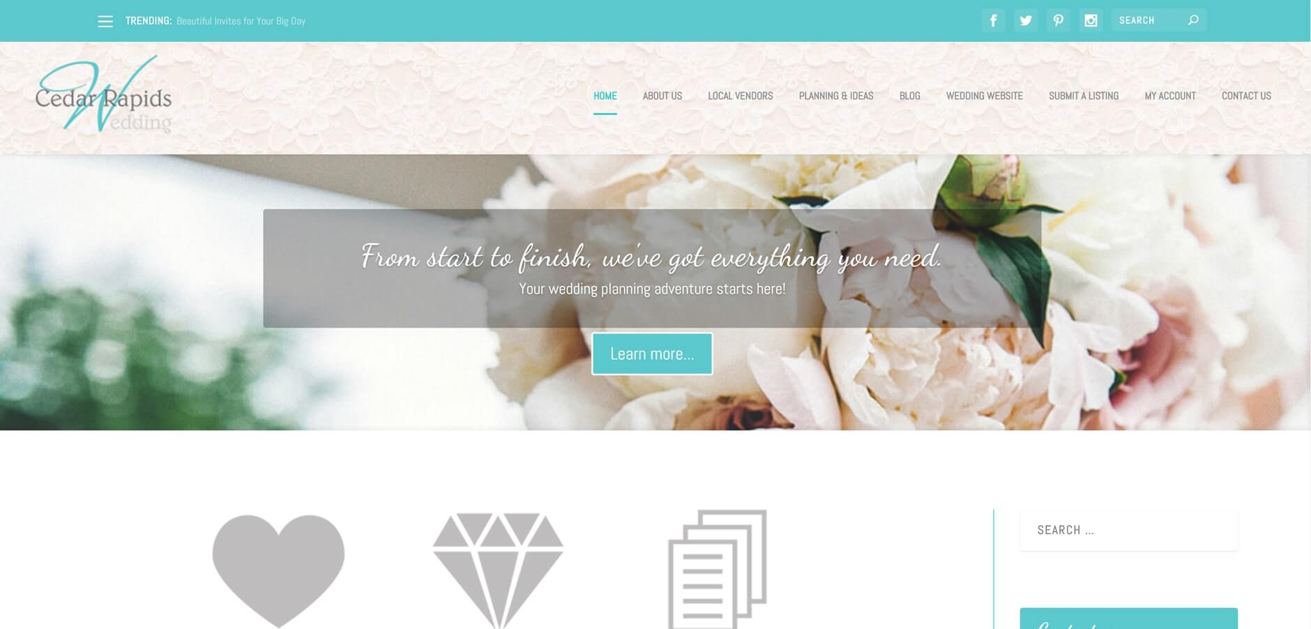 CR Wedding Full Website Creation 1 CR Wedding Full Website Creation