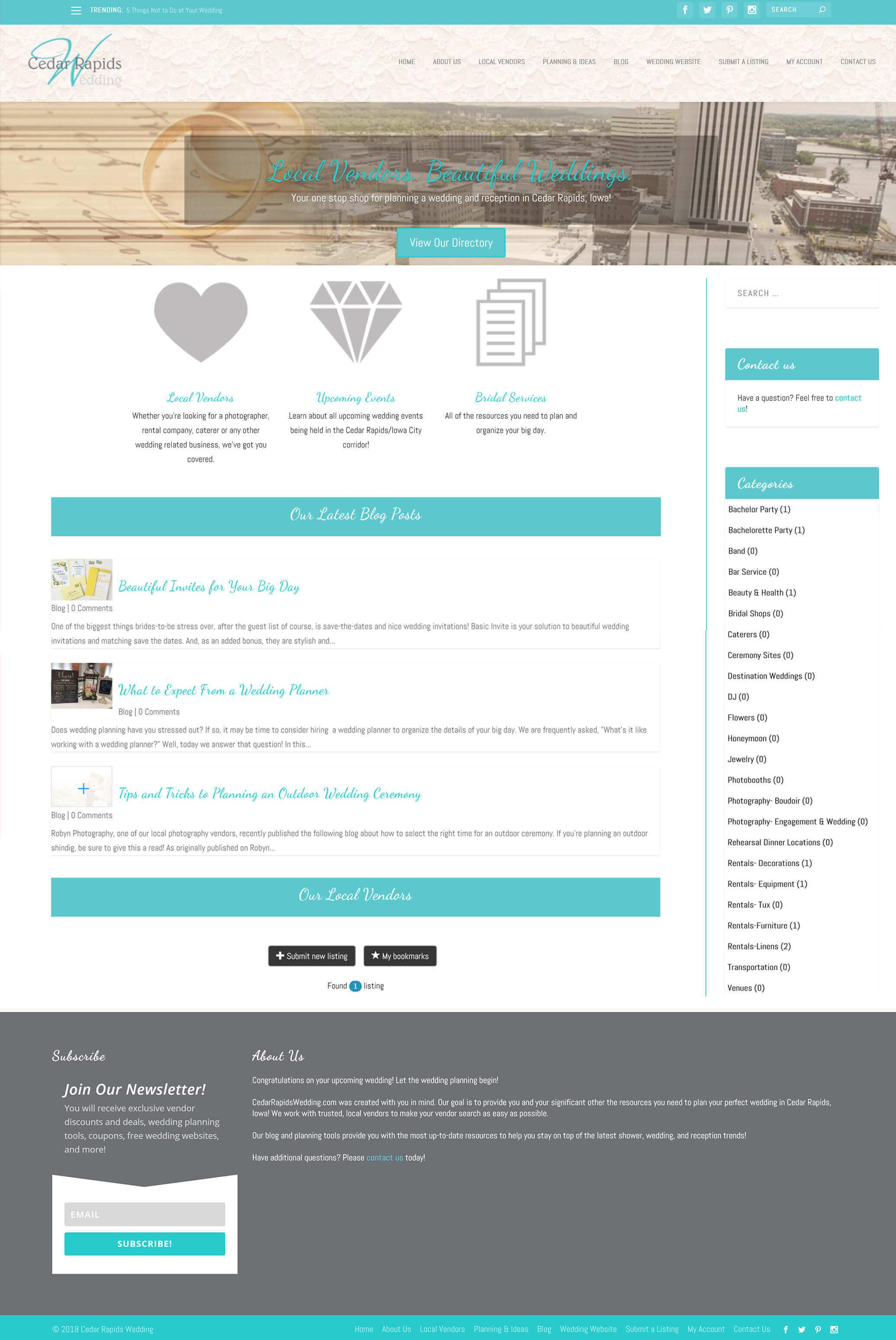 CR Wedding Full Website Creation 8 CR Wedding Full Website Creation
