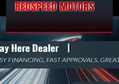 Redspeed Motors Re-Design