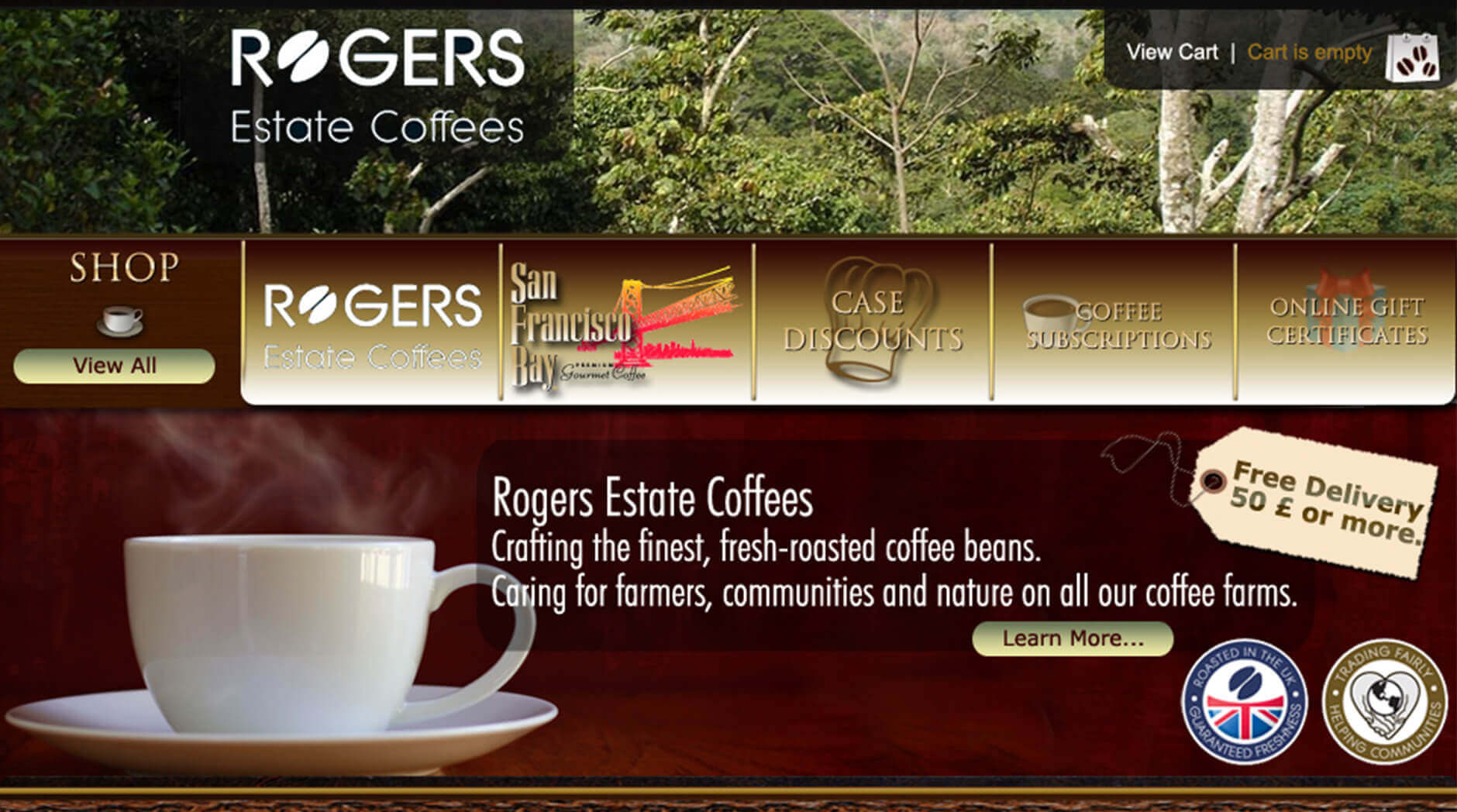 Rogers Estate Coffees 1 Rogers Estate Coffees