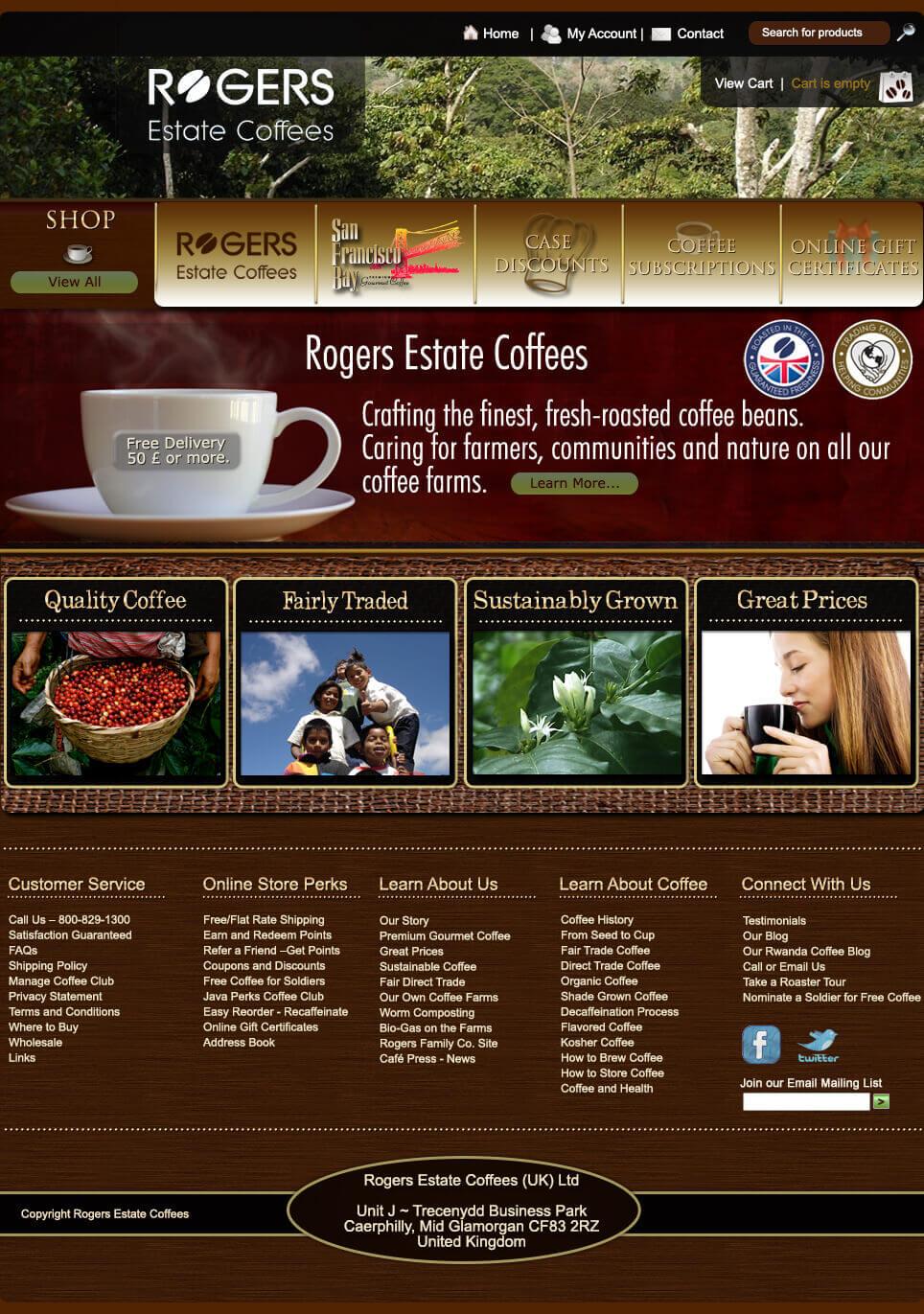 Rogers Estate Coffees 2 Rogers Estate Coffees