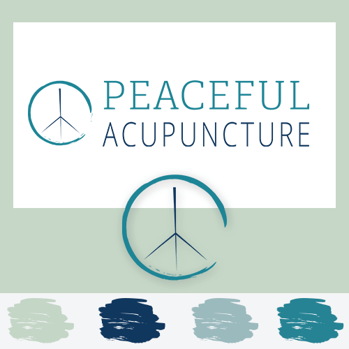 Peaceful Acupuncture Branding