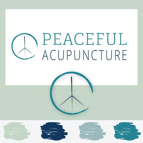 Peaceful Acupuncture Branding
